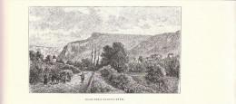 1890 - Gravure Sur Bois - Nans-sous-Sainte-Anne - Doubs - FRANCO DE PORT - Estampes & Gravures