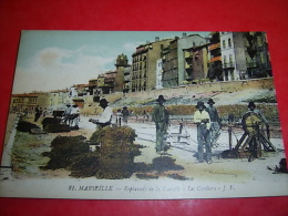 Marseille  Esplanade De La Tourelle Les Cordiers - Old Professions