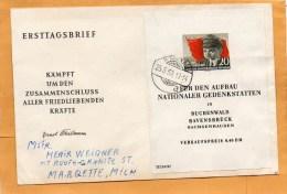 DDR 1956 FDC - [6] Democratic Republic
