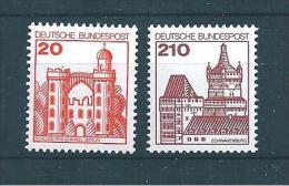 Allemagne Fédérale Timbre De 1979   N°842  Et  843  Neufs - Ungebraucht