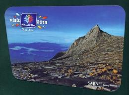 MALAYSIA  -  Sabah  Mt Kinabalu  Used Postcard As Scans - Malaysia