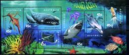 AUSTRALIE OCEAN 1998 - Planete Ocean MNH - Baleine, Dauphin, Requin YVERT N° 1710/15 - LUXE ** - Nuovi