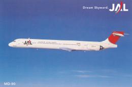 Japan Airlines [JAL] MD-90 Jet Airplane , 80-90s - 1946-....: Modern Era