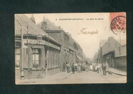 Dorignies Lez Douai - Rue De Douai ( Animée Au Bon Coin Dest. Bouzon Concierge Usine Eaux Ivry  Pour Blondeau Batelier ) - Altri Comuni