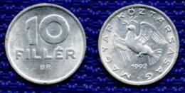 Hungria  10 Filler 1992. - Hongarije