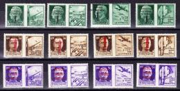 Italien Kriegspropaganda Sass.#25a Bis 36a (12 Werte) Alle ** - 1900-44 Victor Emmanuel III.