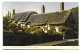 CPA De Shottery (Warwickshire Stratford-upon-Avon UK) Anne Hathaway's Cottage - Stratford Upon Avon