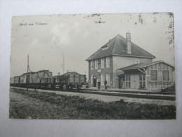 TRIBSOW , Bahnhof         ,Schöne Karte  Um 1910 - Pommern