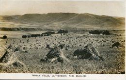 NEW ZEALAND  - Wheat Fields Canterbury Aug 1914 - Océanie