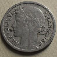1941 - France - 1 FRANC, Morlon, Aluminium, Légère, KM 885a.1, Gad 473 - H. 1 Franc