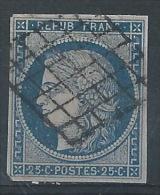 OO--867-.n° 4, OBL.,  COTE  45.00 € , VOIR LE SCAN POUR DETAIL,  LIQUIDATION , A Saisir - 1849-1850 Cérès