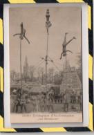 5 CARTES. - . JARDIN ACCLIMATATION - LES MALABARES & CARAVANNE INDIENNE.  DONT UNE SIGNEE - Exhibitions
