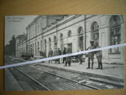 KOWNO _ BAHNHOF _ FOTO 1916 - Lituanie
