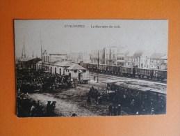 ECAUSSINNES-La Déportation Des Civils. - Ecaussinnes