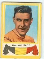 Léon VAN DAELE - Drapeau BELGIQUE - Palmarès Au Dos -  Lire Descriptif - 2 Scans - Cyclisme