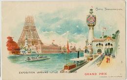 Carte Transparente LU Lefevre Utile Pub Expo Paris 19000 Tour Eiffel  Edit Goossens - Mechanical