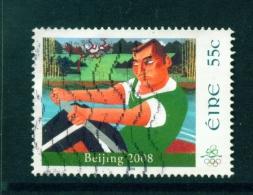 IRELAND  -  2008  Olympic Games  55c  Used As Scan - 1949-... Republiek Ierland
