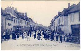 Saint Pourçain Sur Sioule - Faubourg Paluet ( Belle Animation ) ( A. Raymond, éditeur ) (asi-12931) - France