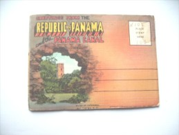 Panama Book Map With 18 Nice Photo's - Panama