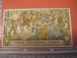 Serie Compl DE BEUKELAER RECLAME CACAO - Artist : VAN NESTE Antwerpen SCALDEN Litho OPERA THYL UILENSPIEGEL Jan Blockx, - Chocolat