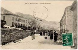Bruis ( Hautes-Alpes) - Quartier Des Ecoles (cliché Labrosse, Cachet Perlé) ( Asi-12933 ) - France
