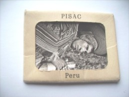 Peru Pisac Map With 11 Very Nice Old Photo's - Peru