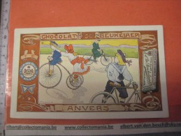 Serie Compl DE BEUKELAER RECLAME CACAO - Artist PELLENS Antwerpen SCALDEN Litho SPORTEN : Ice Skating , Bycile Fishing - Chocolat