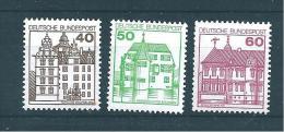 Allemagne Fédérale Timbre De 1979   N°876  A  878  Neufs - Ungebraucht