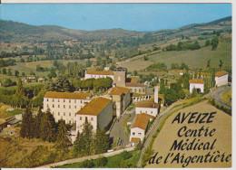 SAINTE-FOY-L´ARGENTIERE  - AVEIZE - Centre Médical De L´Argentière - Vue Aérienne - Andere Gemeenten
