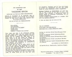 Bryon - Maelbrancke      Zonnebeke 1898-1978 - Religion &  Esoterik