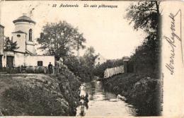 Oudenaarde 6 CP Spoorwegbrug Kasteel Elsegem   Smallendam  Pittoreske Hoek Biervaten '04 Statiestr  Tacambaro'02 - Oudenaarde