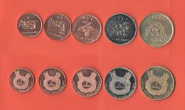 America Centrale Lotto 5 Monete Diverse - Monete