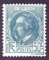 France - Aristide Briand - N° 291 Neuf Sans Charnière. - Neufs