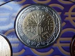 MAGNIFIQUE !!!  2  EURO  FRANCE  2002  BU  FDC   Sous / Vide - France