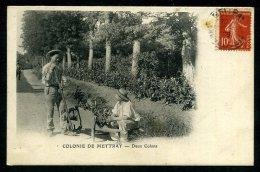 37 - METTRAY - La Colonie - Deux Colons - Mettray