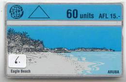 ARUBA (6) Télécarte  Landis&Gyr - Aruba