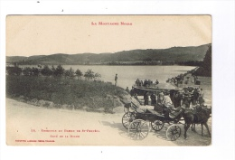 Bassin De ST-FERREOL  -  Côté De La Digue - Bel Attelage - Saint Ferreol
