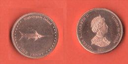 One Penny Nightingale Island 2011  Pseudomoneta - Monete