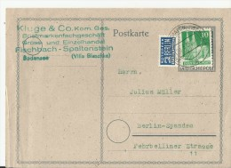 =DP GS 1952 FISCHBACH - Gemeinschaftsausgaben
