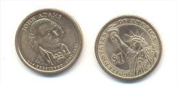 STATI UNITI-USA  1 $ JOHN ADAMS ANNO 2007 (PHILADELPHIA) - Federal Issues