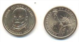 STATI UNITI-USA  1 $ JOHN QUINCY ADAMS ANNO 2008 (PHILADELPHIA) - Federal Issues