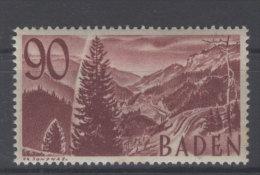 Baden Michel No. 37 ** postfrisch / stockfleckig