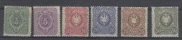 Deutsches Reich Michel No. 39 - 44 * ungebraucht Falz