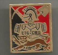 Pins Militaire Armee De Terre De L´air Marine Regiment Genie  Ctg-cmd 22 Ri - Army