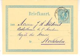 15 DEC 77 Bk G10 Van Haarlem Naar Stockholm - Postal Stationery