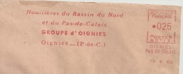 Charbon, Houille, Mine, Oignies- EMA Secap,- Enveloppe Complète;  ( P016) - Minerals