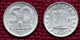 Hongrie 50 Filler 1991. - Hongarije