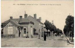 La Châtre - Avenue De La Gare - Carrefour De La Place De La Bascule - La Chatre