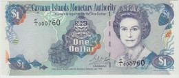 ILES CAYMAN 1 Dollar 1998 P21a UNC