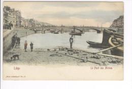 CP Liège Le Pont Des Arches éd. Colorisée Vers 1903 - Lüttich